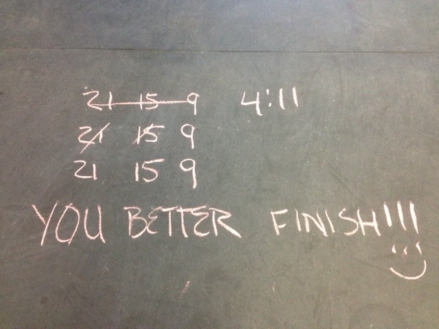 How do you motivate yourself during your workout?