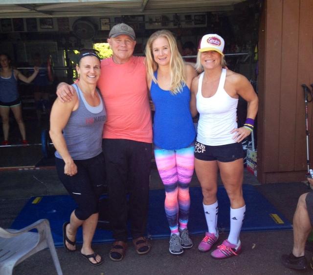 Tonia, Coach B, Tess, Aly