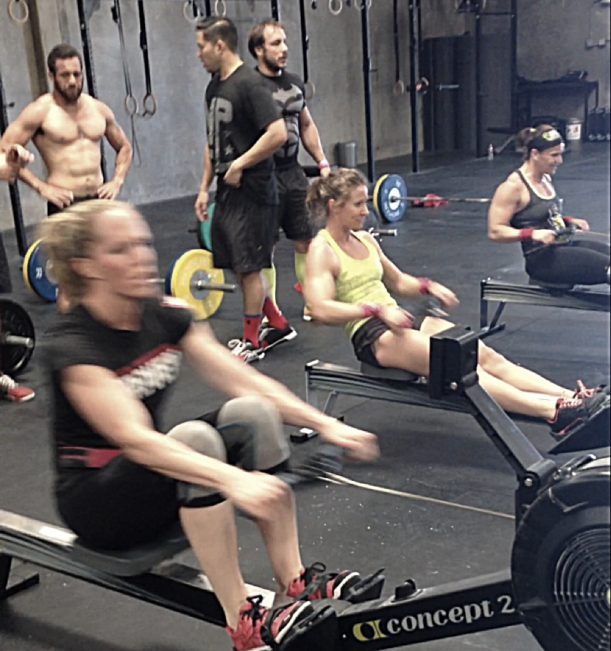 The girls of the Ruination Gold team training their butts off