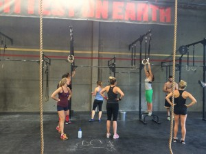Muscle up clinic