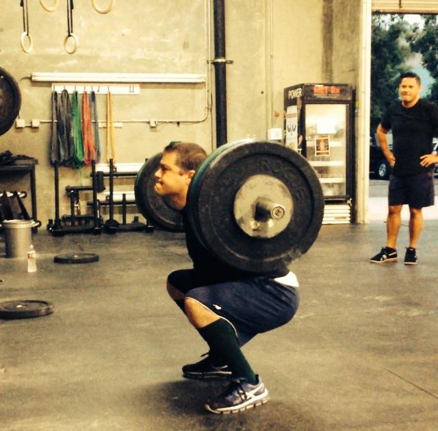 Matt 315# back squat