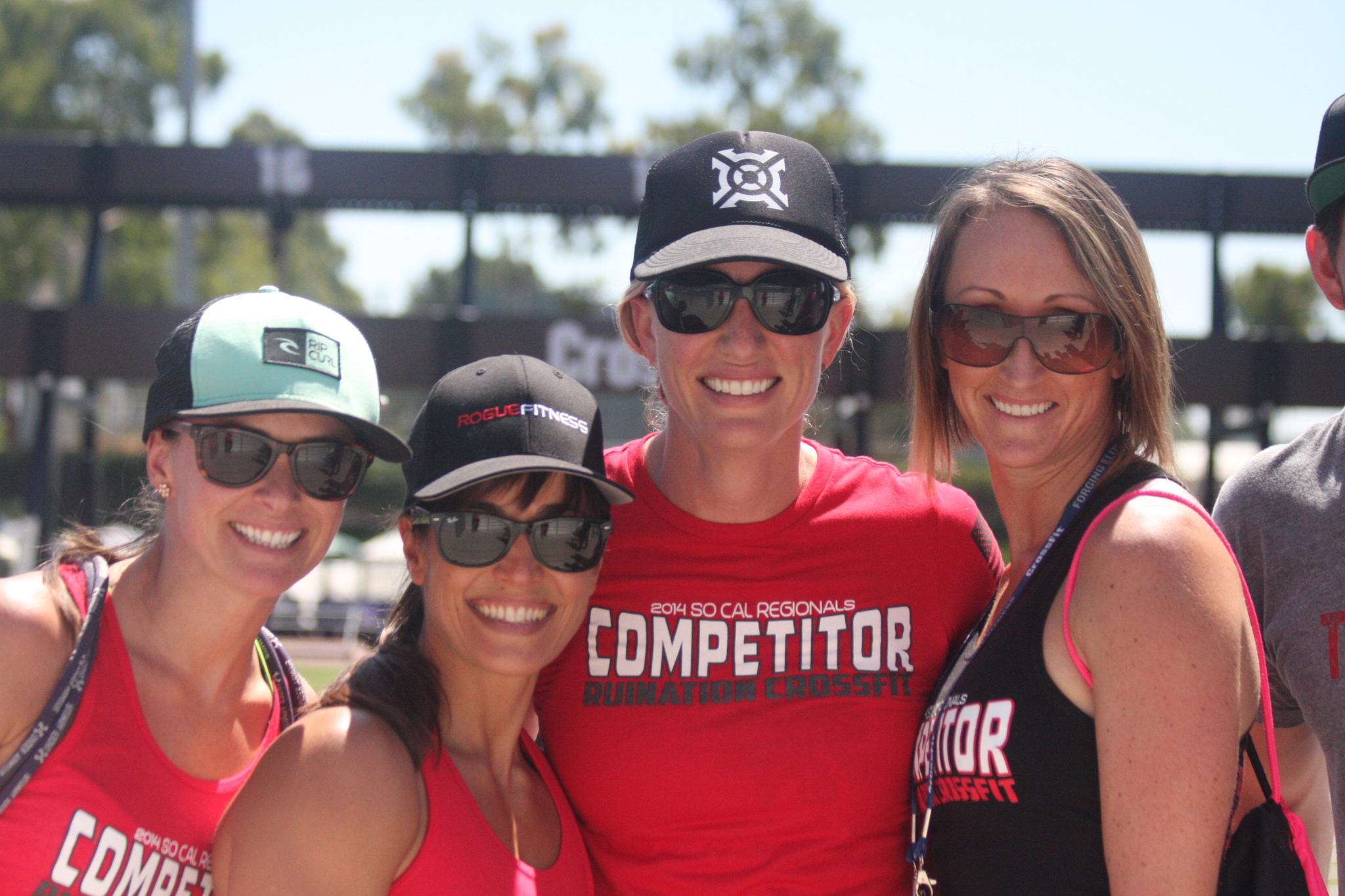 The girls at the 2014 Crossfit Games