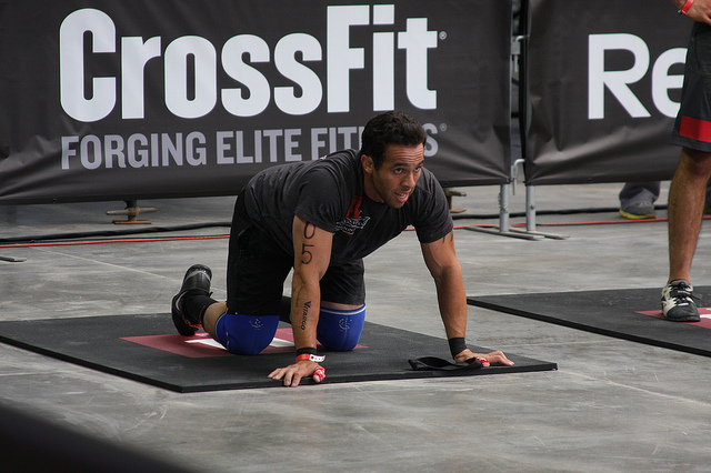 Jared at the 2013 Crossfit Games regionals