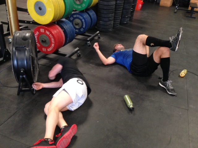 Jon and Joe got after it at the first Level 2 class