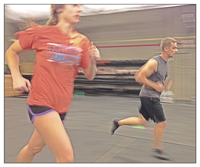 Kristina and Max S. take down the suicides WOD
