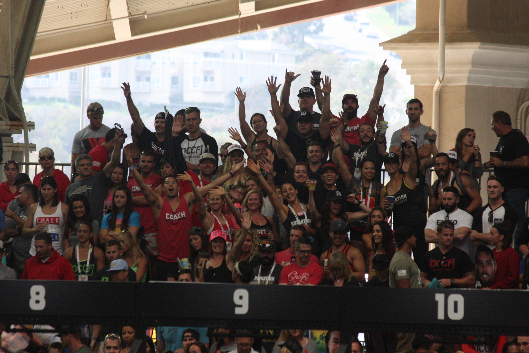 The Nation rolled deep at the 2014 Crossfit Games SoCal Regional