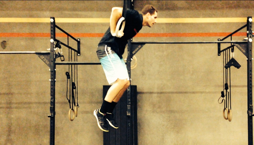 David Q. first muscle up