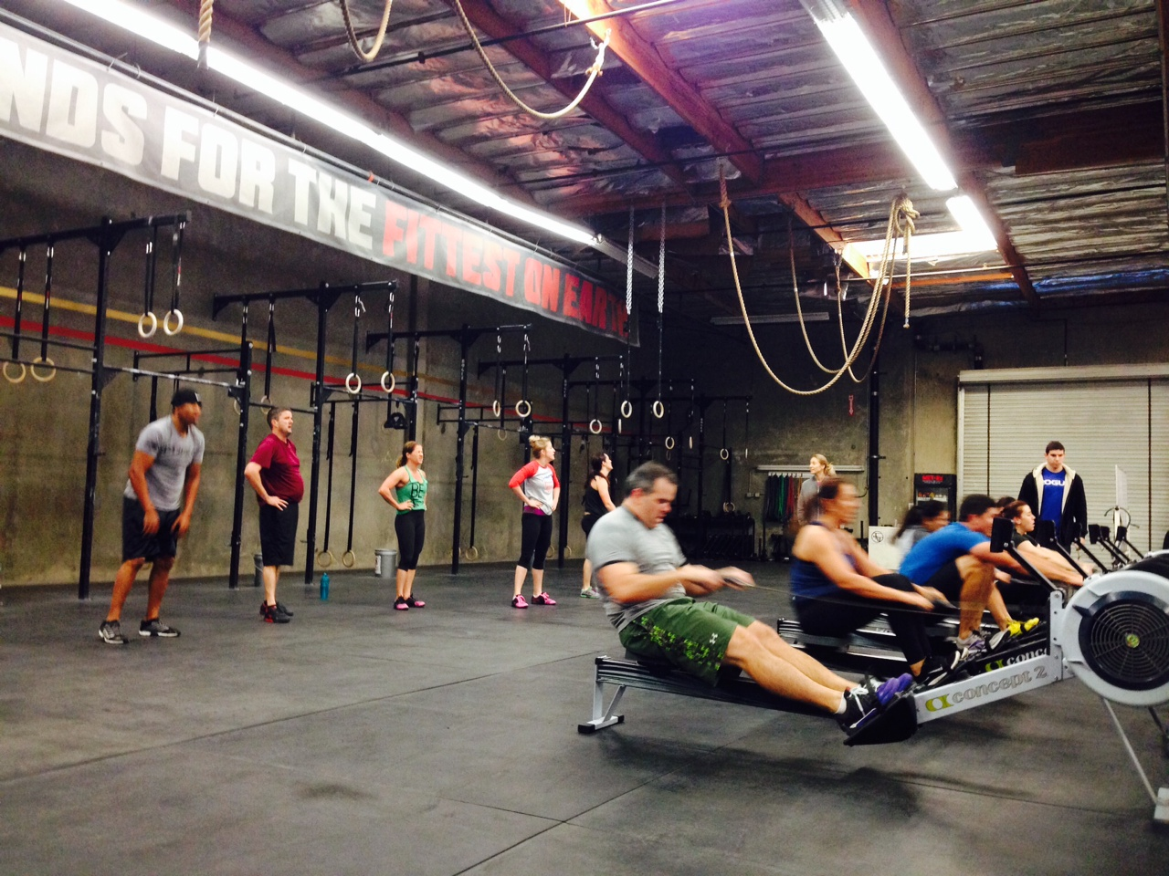 Rowing and burpee EMOM, delivers every time