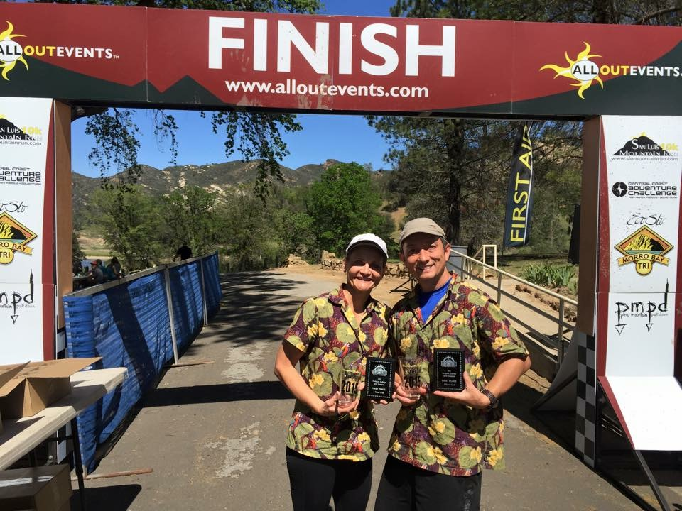 Colleen and Akira take first place finishers at the 2015 Checkpoint Challenge