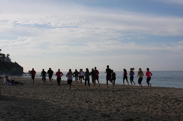 Beach WOD season is upon us