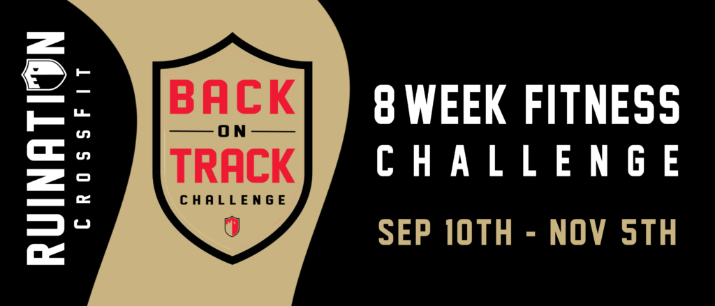 2016 Back on Track Challenge FB